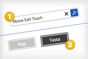 Movie Edit Touch Window Store