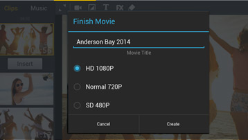 PREMIUM: Video export in Full HD
