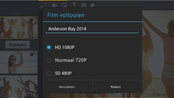 PREMIUM: Video-export in Full HD
