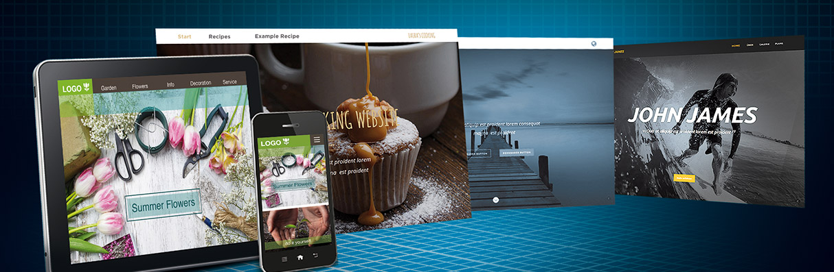 Create websites with Xara Web Designer