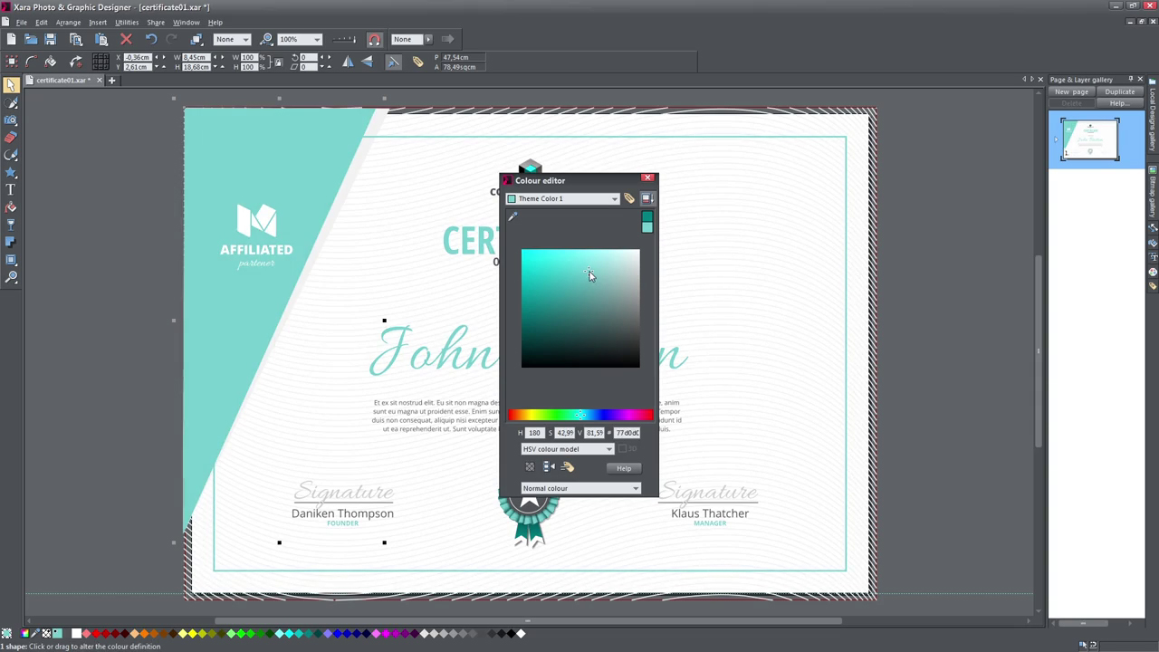 Xara & Graphic Designer – Tutorials