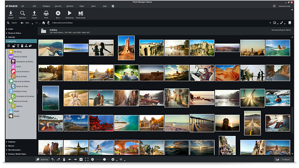 MAGIX Photo Manager Deluxe – Managing photos the right way