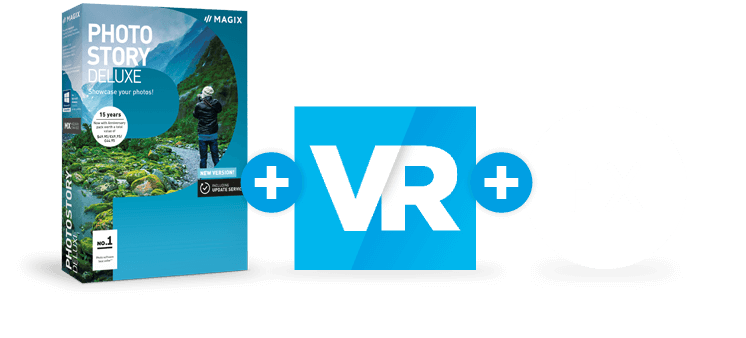 Photostory Deluxe + VR + effets
