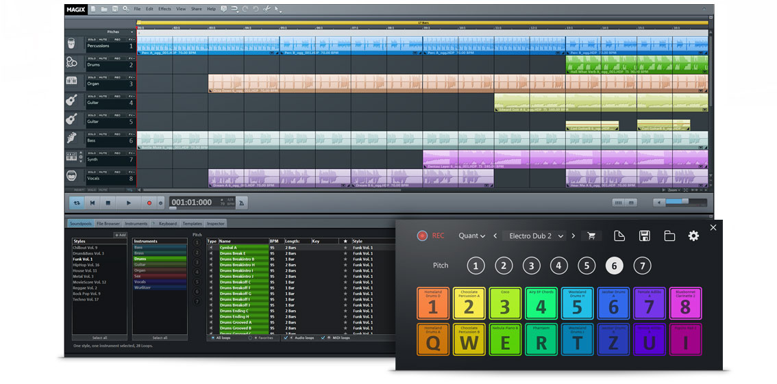 Music Maker 2016 Live Screenshot