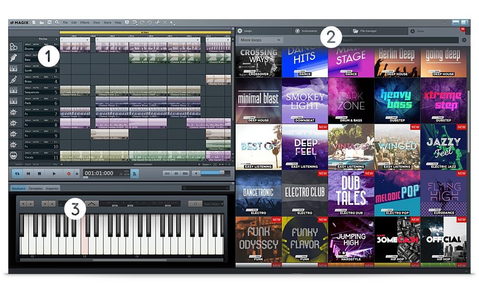 MAGIX Music Maker Premium 24.1.5.119