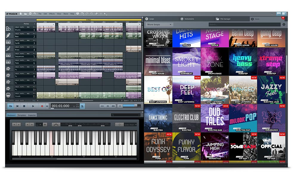 Music Maker Live Screenshot