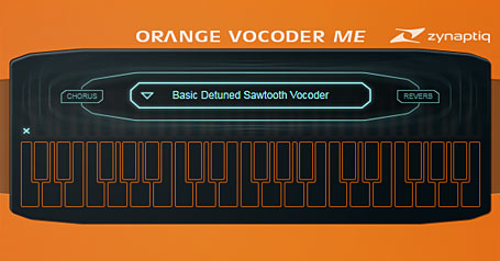 Orange Vocoder by Zynaptiq