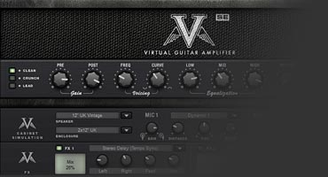 Free guitar amplifier