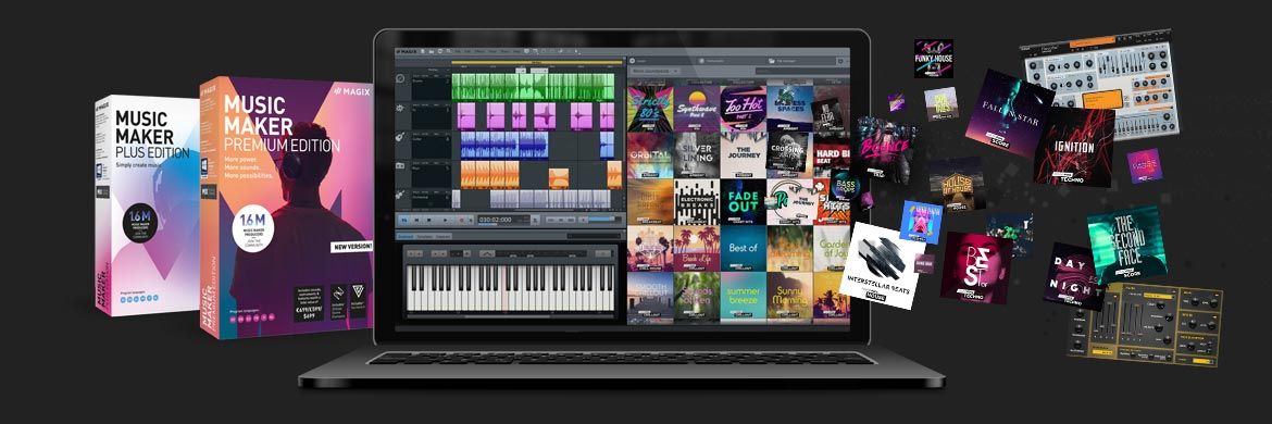 Niedrigerer Preis Mit Magix Music Maker 2019 Performer Edition Music Maker Pr box Performer