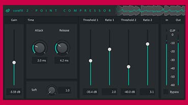 coreFX 2-Point Compressor