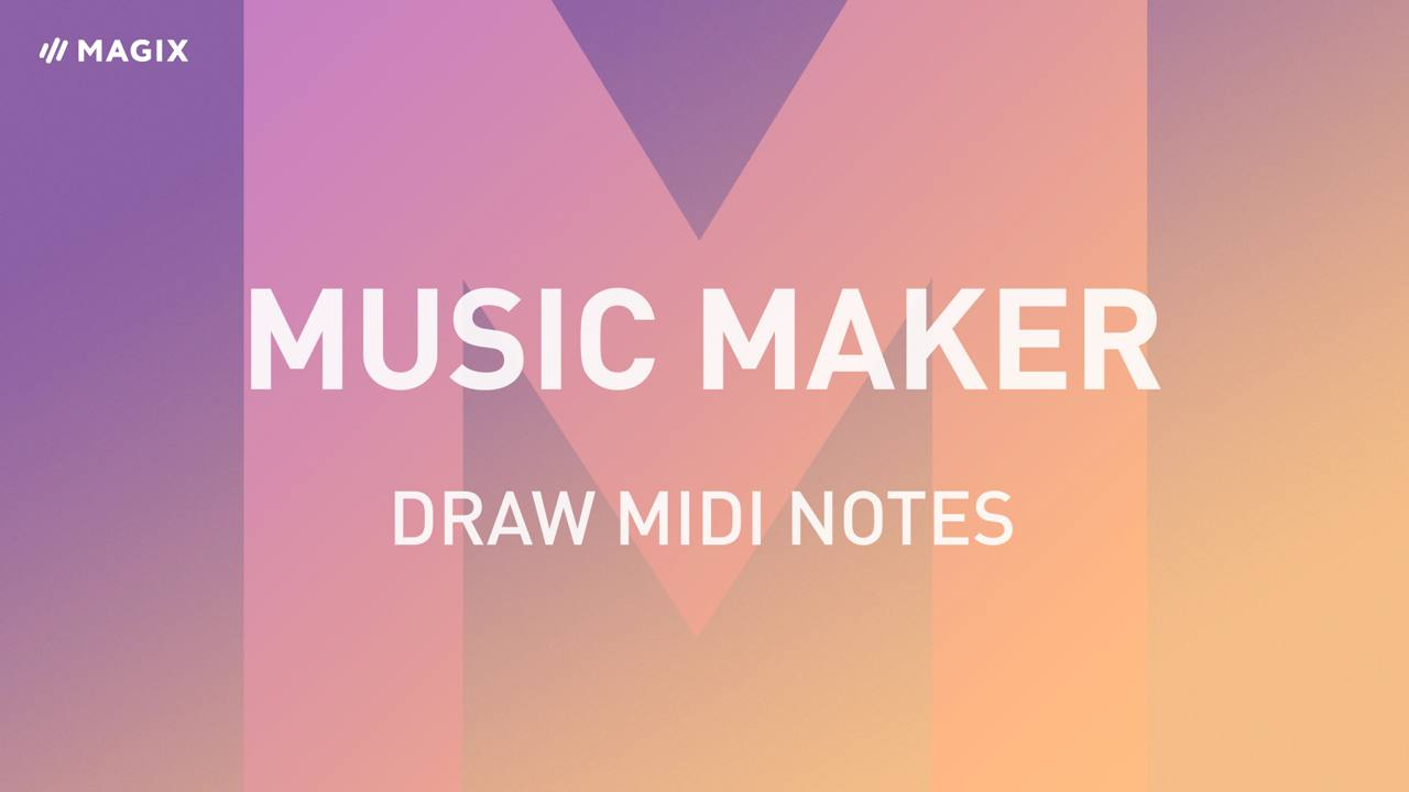 Music Maker - Tutorials