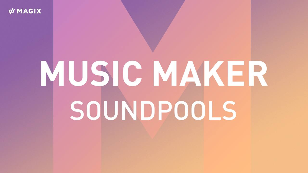 Soundpools en Music Maker