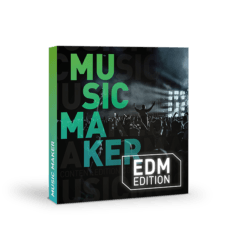 Версия Music Maker EDM