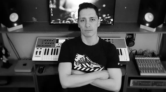 Jairo Bonilla, advertising music and jingle composer, sound designer and musician