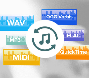 Convert audio & video files
