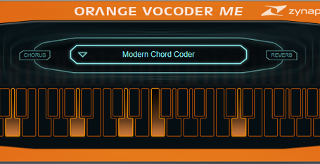 Orange Vocoder ME de Zynaptiq