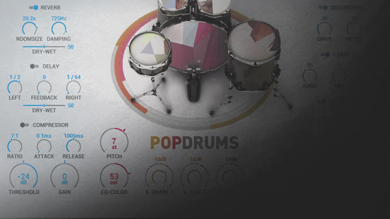 8 Drums machines diferentes