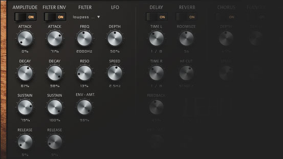 4 virtual synthesizers