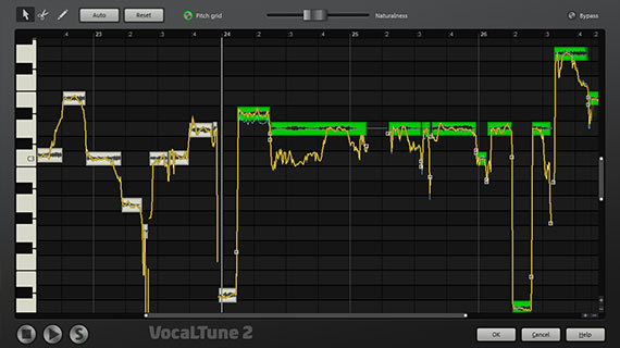 Vocal recording correction