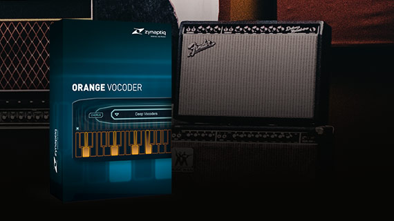 Orange Vocoder ME by zynaptiq
