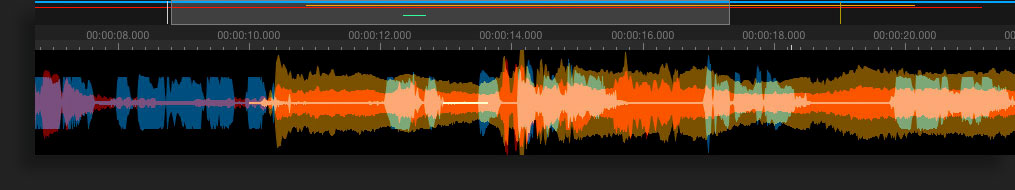 SpectraLayers waveform