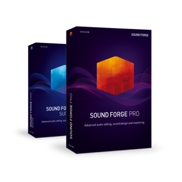 SOUND FORGE Pro - die Legende in der Audiobearbeitung