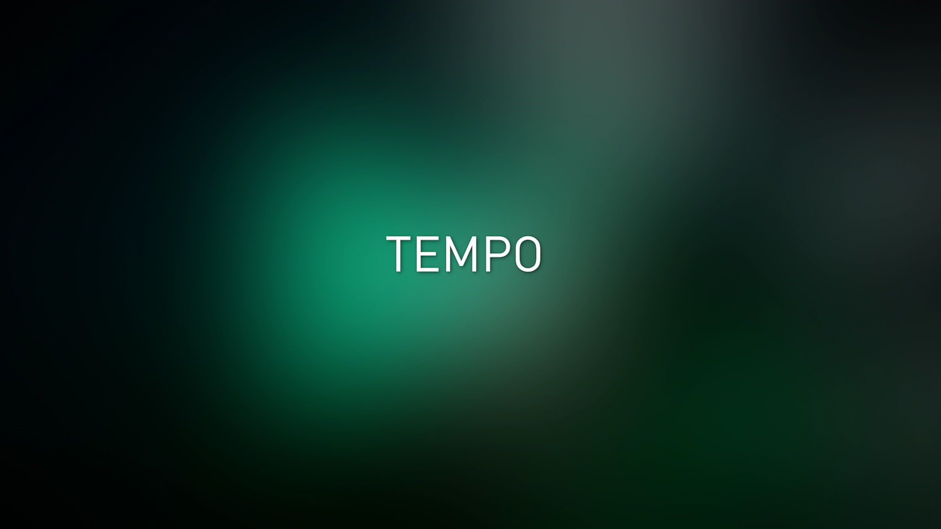 Tempo and Pitch