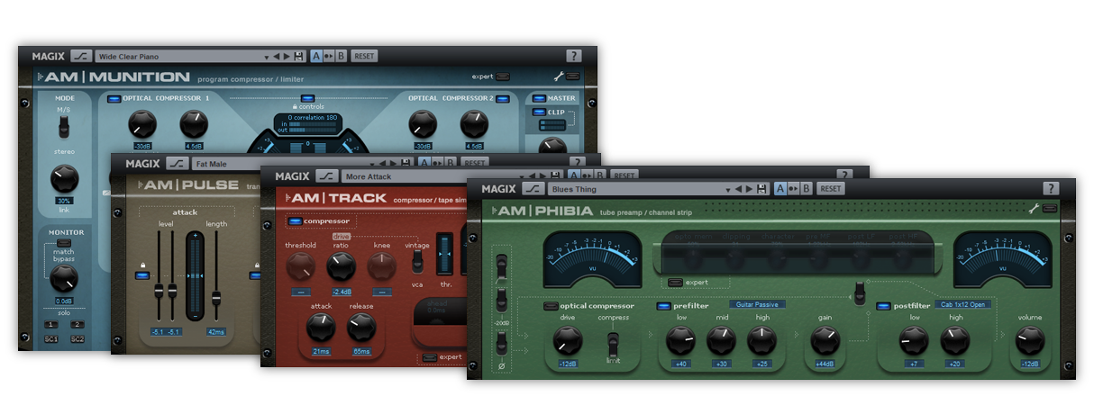 Exclusivos plug-ins: Analogue Modelling Suite