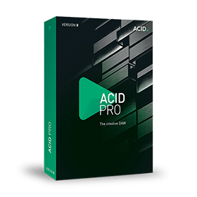ACID Pro 8 - new features at a glance