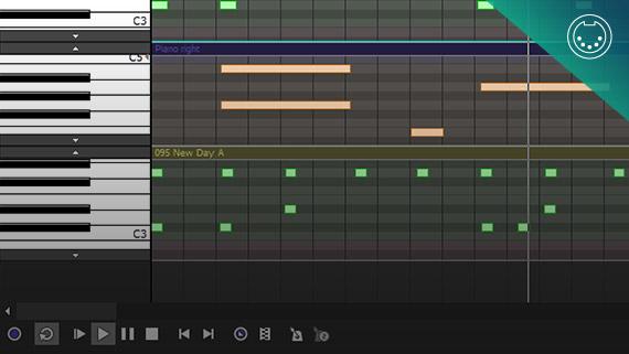 Comprehensive MIDI support