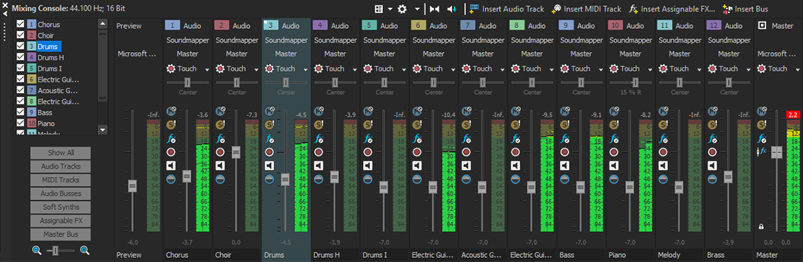 The new ACID Pro 9 – All features