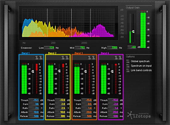 Mastering & Repair Suite powered by iZotope®