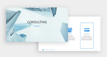 Templates for presentations - Consultancy