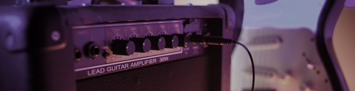 lead guitar amp