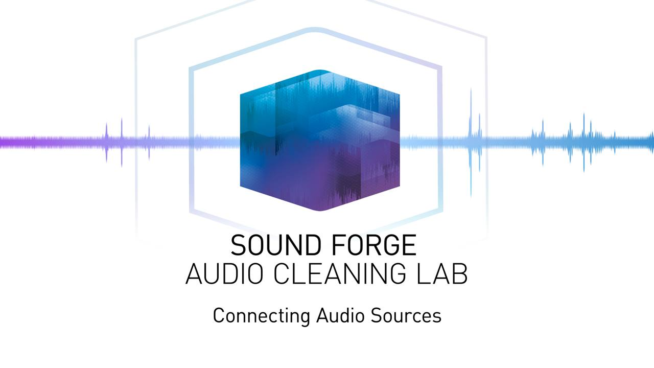 Connecting audio sources