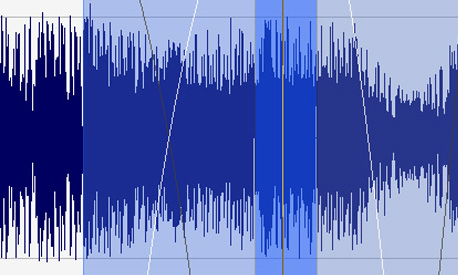 Precise audio editing