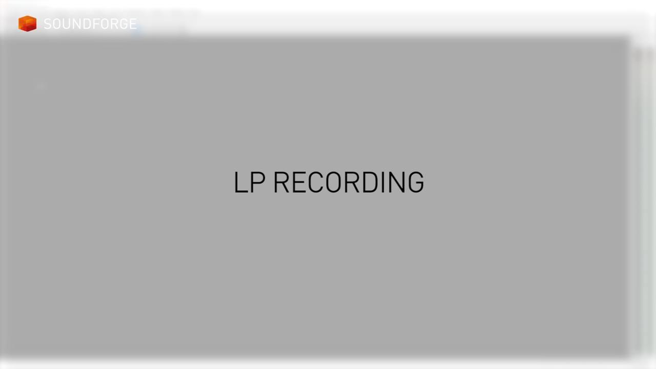 SOUND FORGE Pro 13 – tutorials