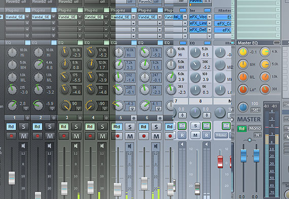 Layouts de mixer