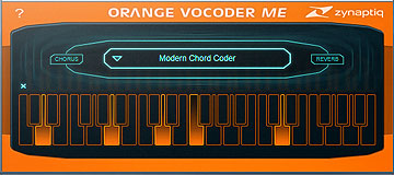 Orange Vocoder ME van Zynaptiq