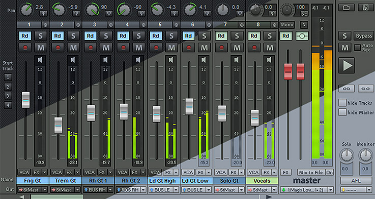 The Mixer. Remixed.
