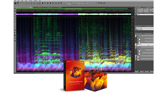 Visual sound design:  SpectraLayers Pro 5