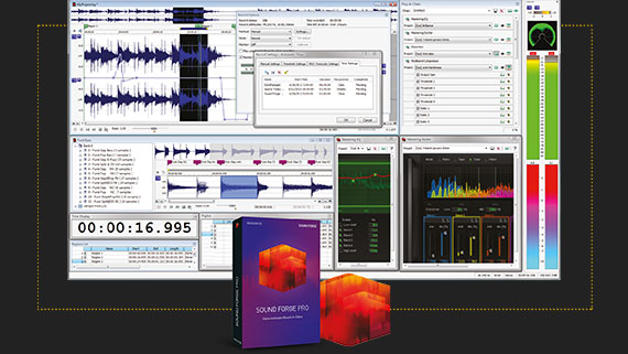 Audio Editing mit SOUND FORGE Pro 11