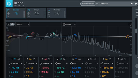 Exclusive to the Suite version! iZotope Ozone 9 Elements
