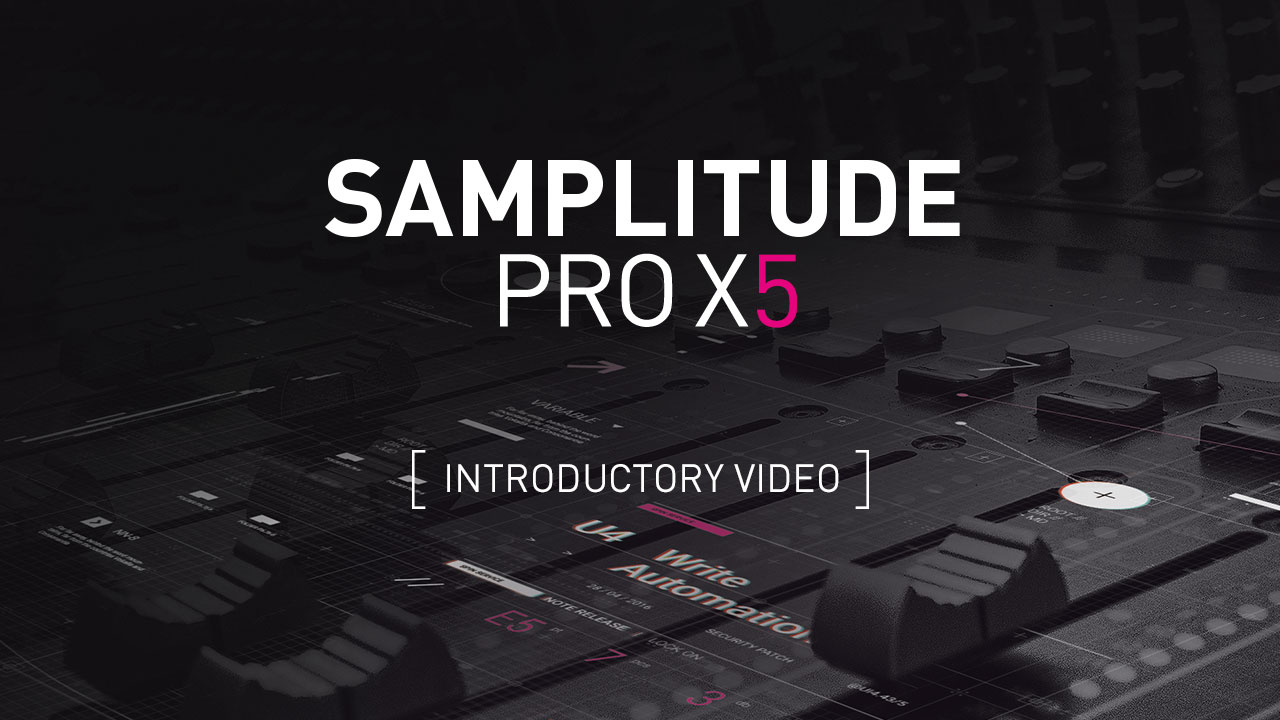 Samplitude Pro X5 - Tutorial