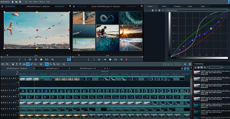 MAGIX Video Pro X - Intuïtieve videobewerking. Nieuw gedefinieerd.