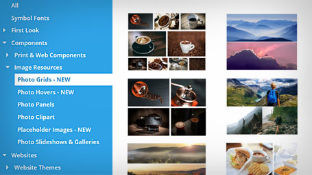 New smart photo grids