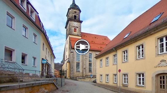 Virtual walkthrough: historical city tour