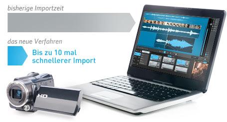 Extrem schneller Import