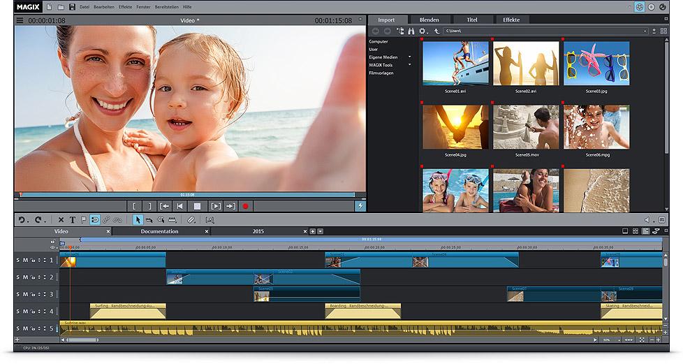 Videobearbeitungsprogramm kostenlos downloaden – Video Deluxe  Videobearbeitun...