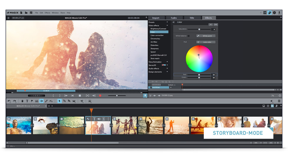 Magix Movie Edit Pro The Video Editing Software